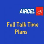 Aircel Rajasthan Full Talk Time Plans-Full and Extra Talk Time Plans