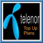 Telenor UP West Top Up Plans – Top Up Recharge Details