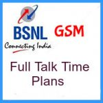 BSNL GSM Chhattisgarh Full Talk-Time Plans – Full Talk Time Recharge Details