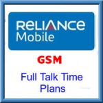 Reliance GSM Karnataka Full Talk Time Plans   -Full and Extra Talk Time Recharge Offers