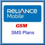 Reliance GSM Jammu and Kashmir SMS Plans- Details of SMS Plans
