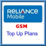 Reliance GSM Jammu and Kashmir Top Up Plans-Talk Time Recharge Packs