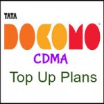 Tata Docomo CDMA West Bengal Top Up Plans- Talk time Recharge Plans