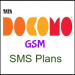 Tata Docomo GSM UP East SMS Plans- SMS Recharge Plans