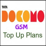 Tata Docomo GSM UP West Top Up Plans- Talk time Recharge Plans